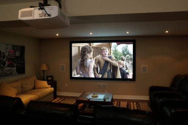 automated home theatre system