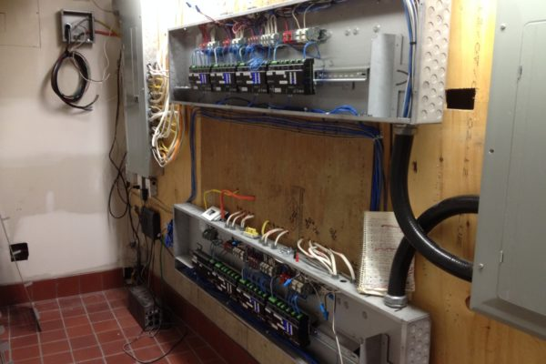automated lighting wiring